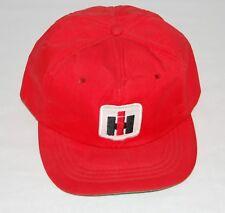 84bf4102c1c06 Vintage International Harvester Tractor Snapback Trucker Farmer Hat 1970s IH