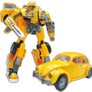 Transformer Bumblebee Movie Series Beetle  Action Figure Human Vehicle