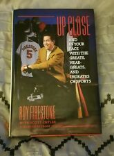 Up Close Roy Firestone Signed/ Autographed
