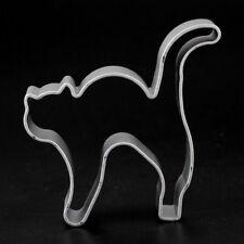 Stampo formina gatto arruffato gattino halloween dolci taglia biscotti cake