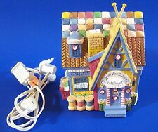 Raggedy Ann & Andy Patchwork House Village Storybook Collection Dept 56 Lighted
