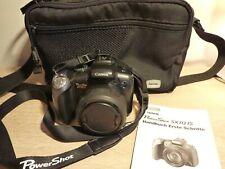 Canon PowerShot SX10 IS 10.0MP-20x Opt.Zoom - Schwarz-Top Zustand