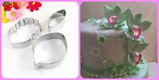 Orchideen Ausstecher- Set Zuckerblumen Tortendekor Fondant Hochzeit