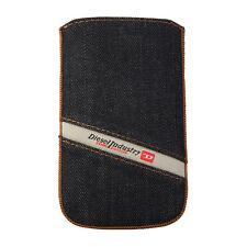 DIESEL X01038 Universal Slim Sleeve Handytasche Hülle Cover Denim, XL, 81x132mm