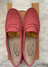 Authentic Women's NIB Tod's Moccasins 38 Suede