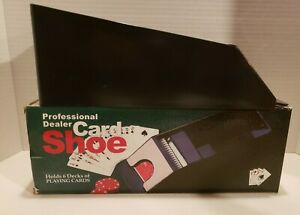 6 Deck Card Dealer Shoe with Box