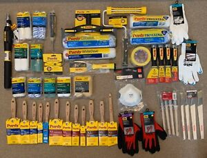 Purdy@ Brushes,Sleeves,Roller,Scraper,Gloves etc.Big Set of (42 Pieces )