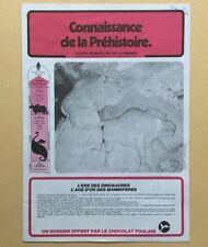 Dossier Image CHOCOLAT POULAIN Complet CONNAISSANCE de la PRÉHISTOIRE