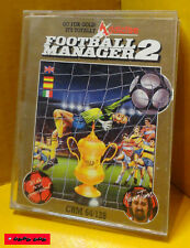 COMMODORE C64 / Original HÜLLE Datasette - FOOTBALL MANAGER 2 - ADDICTIVE - 1987
