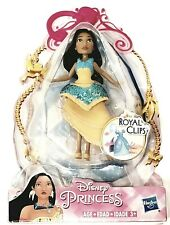 Disney Princess Pocahontas Royal Clips Doll New
