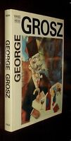 ' GEORGE GROSZ '  by Hans HESS : 1985 Edition : hardcovers + d. jacket : Illust.