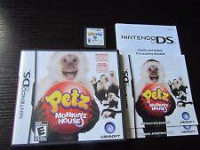 Nintendo DS Petz: Monkeyz House tested Monkey