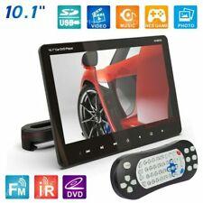 10.1 Inch Car DVD Player Headrest Monitor HD Digital LCD IR FM Game USB SD I4C5