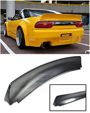 EOS RB Style Rear Trunk Lid Wing Spoiler For 89-94 Nissan 240SX S13 Hatchback