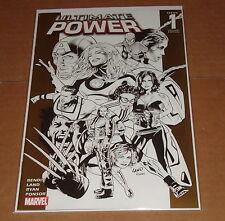 Ultimate Power #1 Greg Land Sketch Variant Edition 1st Print Spider-Man