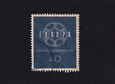 German Stamp1959 Eurostamp 40 (E2)