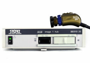 Karl Storz IMAGE 1 HD HUB Console with IMAGE 1 HD H3 Camera