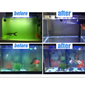 13W LED Aquarium UV Sterilisationslampe Sterilisator Lampe Wasserklärer Tauch DE