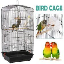 "36"" Metal Bird Cage for Parakeet Lovebird Budgie Parrot Canary Cockatiel"