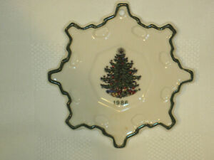 """1986 Cuthbertson """"Original Christmas Tree"""" Ornament Made in England"""