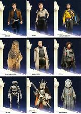 Solo - A Star Wars Movie - Complete 100 Trading Card Set - Topps 2018 - NM