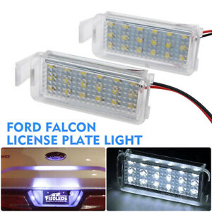 2PCS 18 LED SMD License Number Plate Light For Ford Focus Mondeo Fiesta C-Max XF