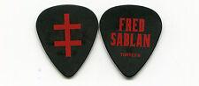 MARILYN MANSON 2013 Cruel Tour Guitar Pick!! FRED SABLAN custom concert stage #1