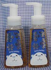 2 Bath Body Works BERRY TWINKLE Anti-bacterial Gentle Foaming Hand Soap