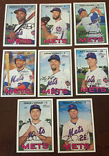 2016 NY METS 40 Card Lot w/ TOPPS HERITAGE HIGH # TEAM SET 27 CURRENT Players