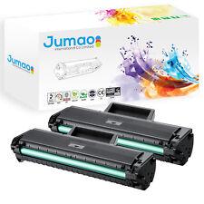 2 Toners cartouches laser type Jumao compatibles pour Samsung ML 1660, Noir