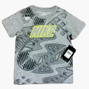 NWT Nike DRI-FIT or Cotton Boys Shirts, ASST Styles; Sizes 4-7, XS (7-8) S(8-10)