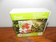 Cricut Craft Anna's Christmas Cards and Embellishments Cartridge Used L017