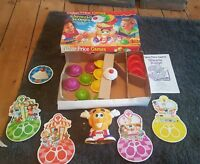 SHIVERIN' SCOOPS FISHER PRICE board game 100% COMPLETE & WORKING 1995 vintage