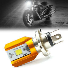 6W COB LED H4 Motorcycle Moped Hi/Low Lamp Headlight Bulb For Harley Moto
