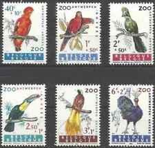 Timbres Oiseaux Belgique 1216/21 ** lot 29044