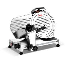 Kws Commercial 320w Electric Meat Slicer 10 Triple Safety Locks Anodized Body