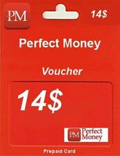 e-VOUCHER PERFECT MONEY 14$ - DOŁADOWANIE KOD