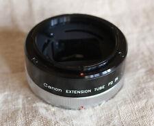 Canon Extension Tube FD 25 Extender prolunga obiettivo reflex Canon FD