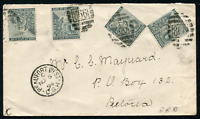 "CAPE OF GOOD HOPE (21253) railway/Beaufort West ""868"" cancel/cover"