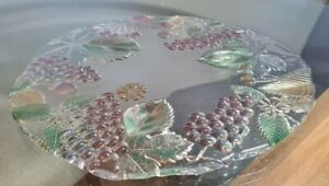 """Mikasa Limited Edition Grapes And Leaves Large Platter 13"""""""