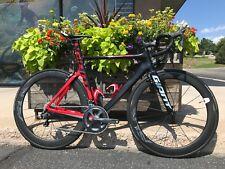 54cm Giant Propel Advanced SL Carbon Aero Road Bike Ultegra Medium Race Wheels