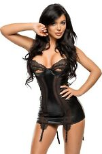 BEAUTY NIGHT / MARILYN CHEMISE BLACK / L/XL