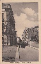 NP0058 - NOCERA INFERIORE SALERNO - VIA CASTALDA VIAGGIATA 1928