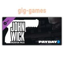 PAYDAY 2: John Wick Weapon Pack AddOn/DLC PC Steam Download Link DE/EU/USA Key