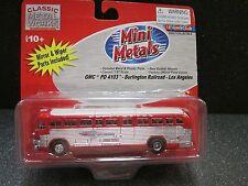 HO GMC PD 4103 Los Angeles Burlington Railroad Bus - Classic Meal Works #32116