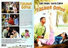 Father Goose ~ New DVD ~ Cary Grant, Leslie Caron (1964)