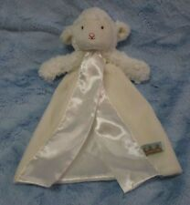 "Bunnies by the Bay Ivory White lamb bye bye buddy Security Blanket ""Kiddo"" 12"""