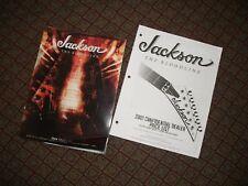 Jackson Guitars Brochure USA DEALER 2009 Price List Guitar BLOODLINE (2)