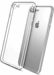COVER TRASPARENTE per APPLE IPHONE 8 8G Custodia Ultra Slim Morbida Silicone TPU