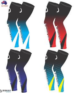Deckra Leg Warmers UV Sun Protect Compression Sports Running Leg / Knee Sleeves